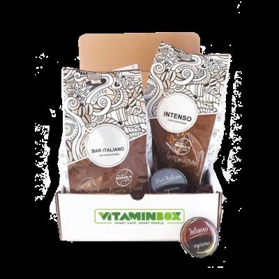 Vitaminbox Home Office Box kávécsomag kávéelőfizetés