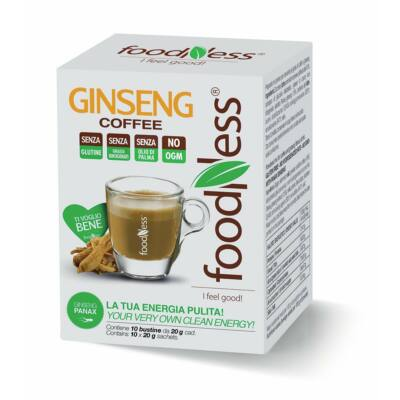 GINSENG COFFEE kávé különlegesség 10 db - Egyadagos instant kiszerelés