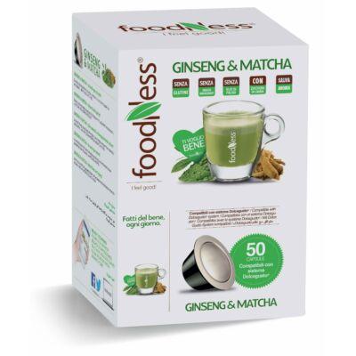 GINSENG & MATCHA energizáló italspecialitás 50 db DOLCE GUSTO® kompatibilis kapszula