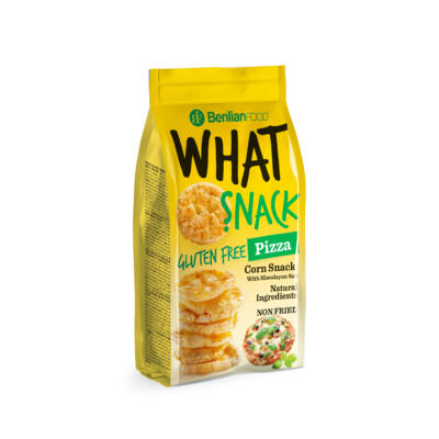 What Snack Pizzás gluténmentes kukorica snack 50 g