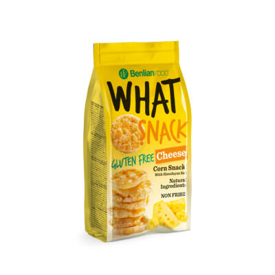 What Snack Sajtos gluténmentes kukorica snack 50 g