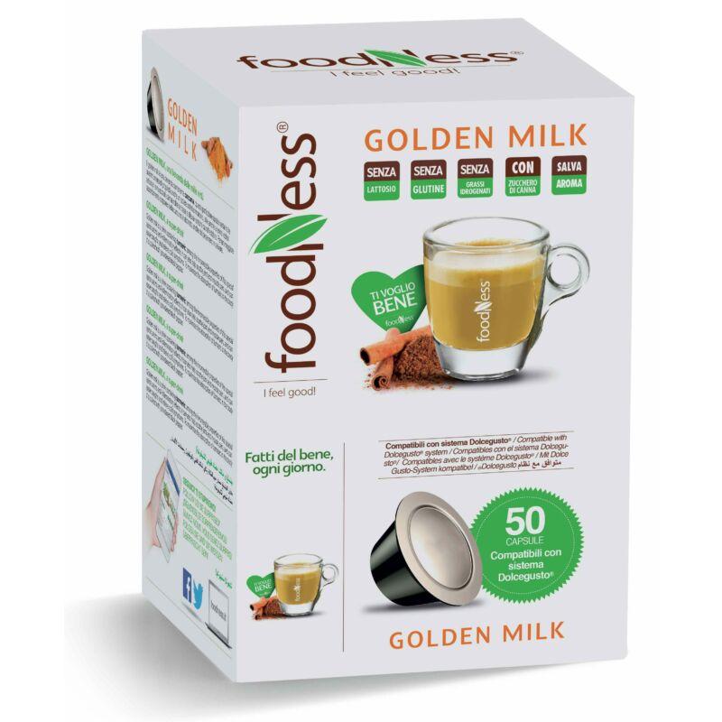 GOLDEN MILK  Kurkumás Kókusztejes Wellness ital