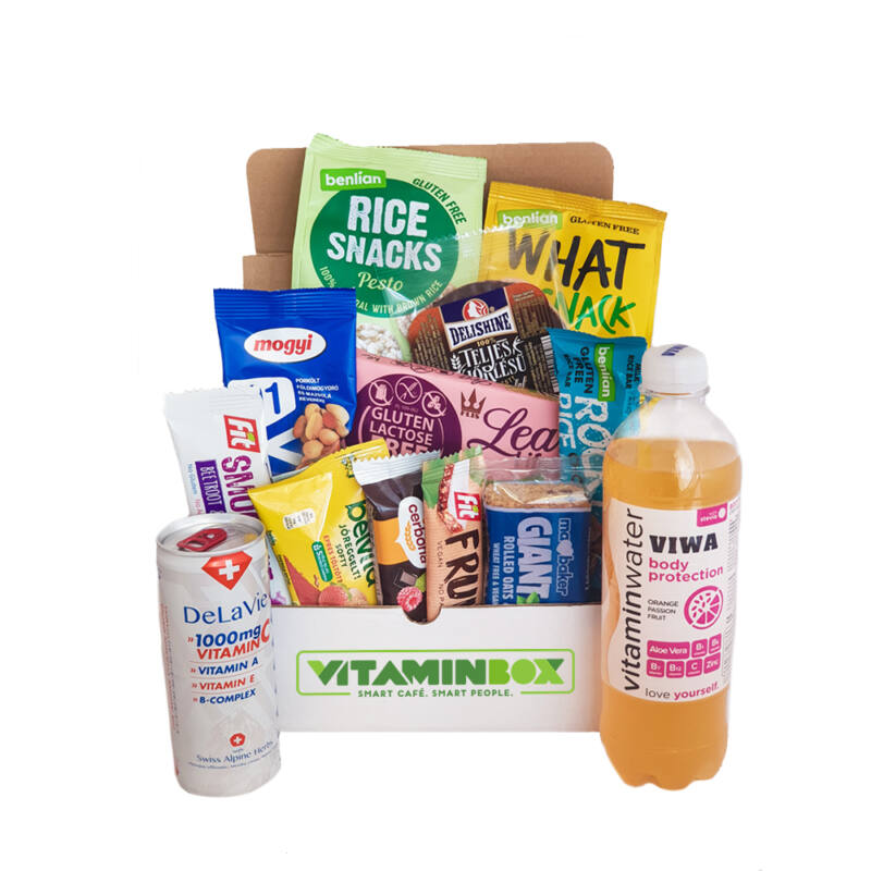 Home Office Box Smart Snack csomag Medium - Vitaminbox