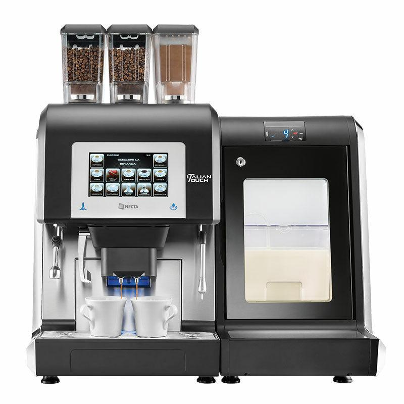 Necta Karisma kávégép tejhűtővel