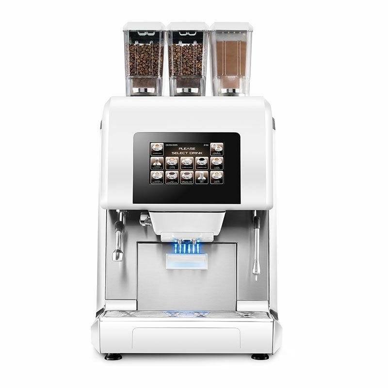 Necta Karisma kávégép, fehér