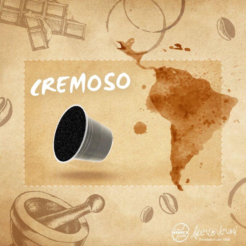 Alberto Verani kapszulás kávé Cremoso Nespresso kompatibilis