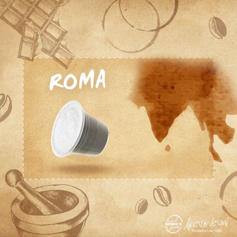 Alberto Verani Roma koffeinmentes Nespresso kávékapszula