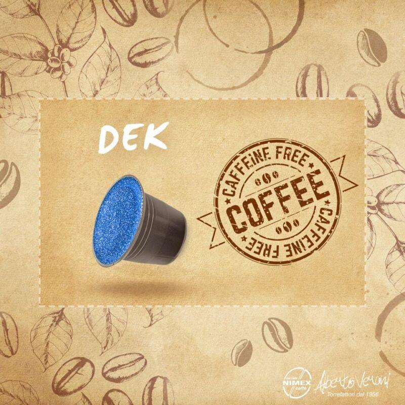 Alberto Verani kapszulás kávé DEK koffeinmentes Nespresso kompatibilis