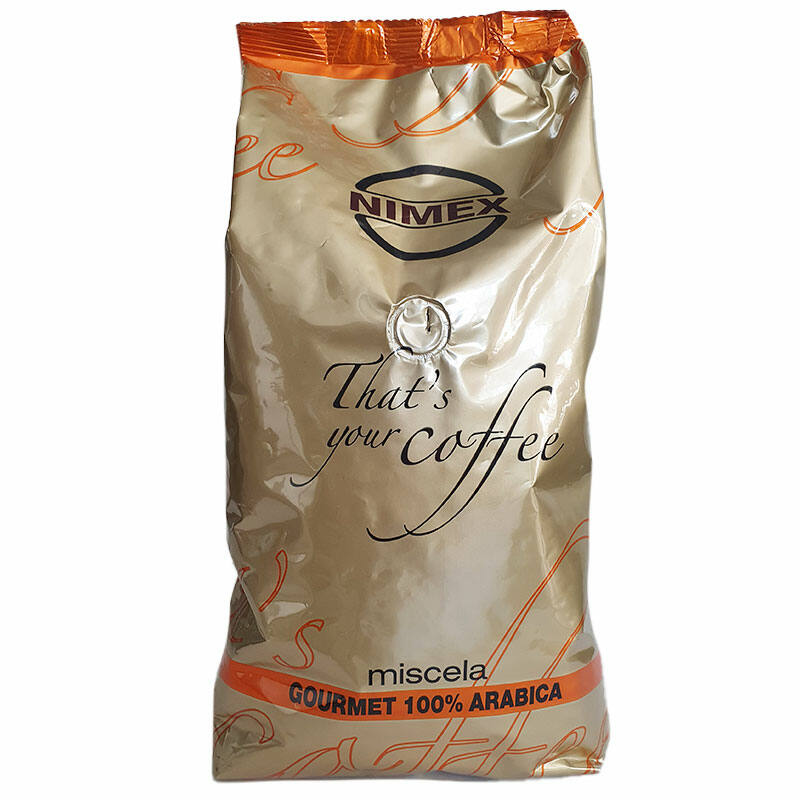 100% Miscela Arabica Gourmet szemes kávé