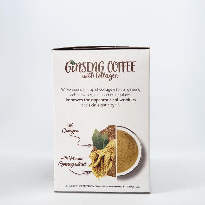Ginseng kávé kollagénnel