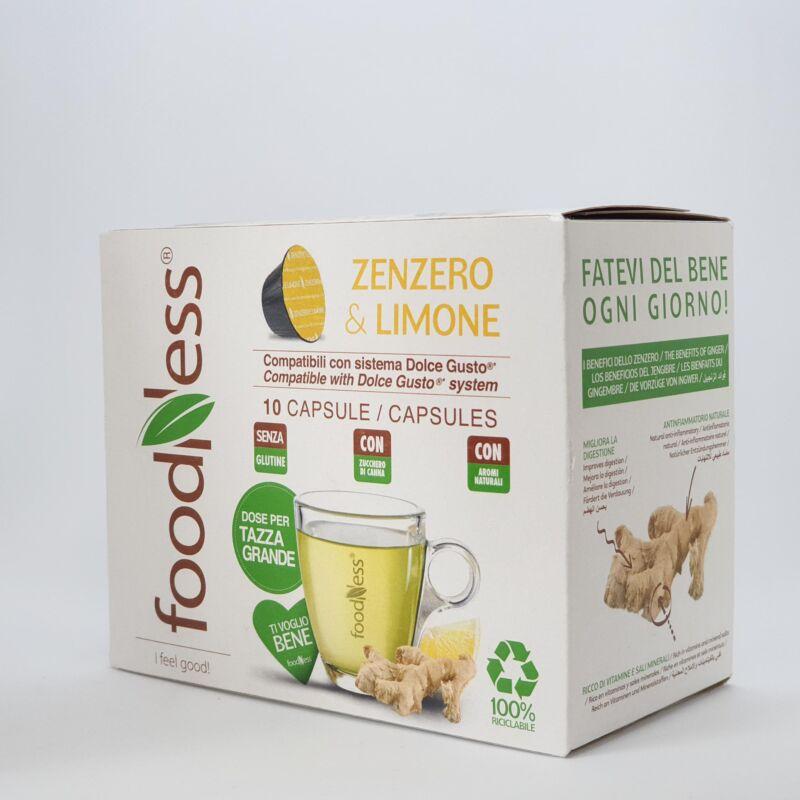 Gyömbéres citromos wellness ital
