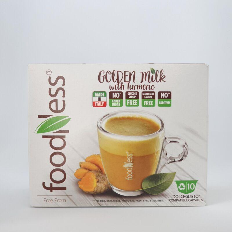 Golden Milk kurkumás kókuszos wellness ital
