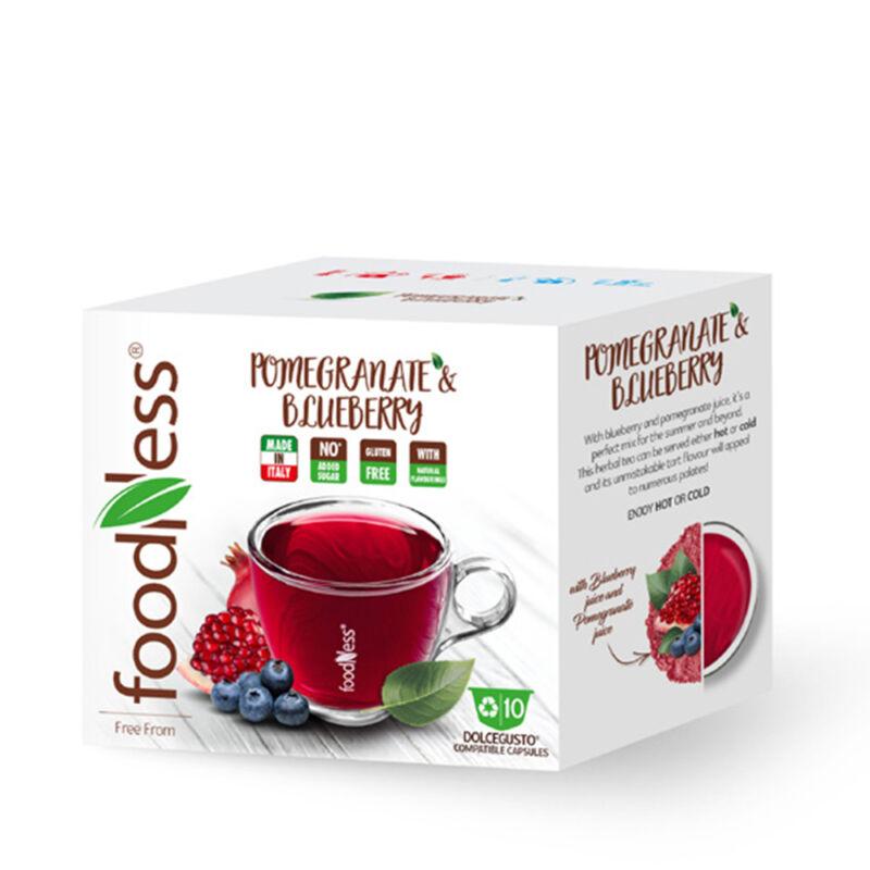 ÁFONYÁS-GRÁNÁTALMÁS Wellness ital DOLCE GUSTO kompatibilis kávékapszula