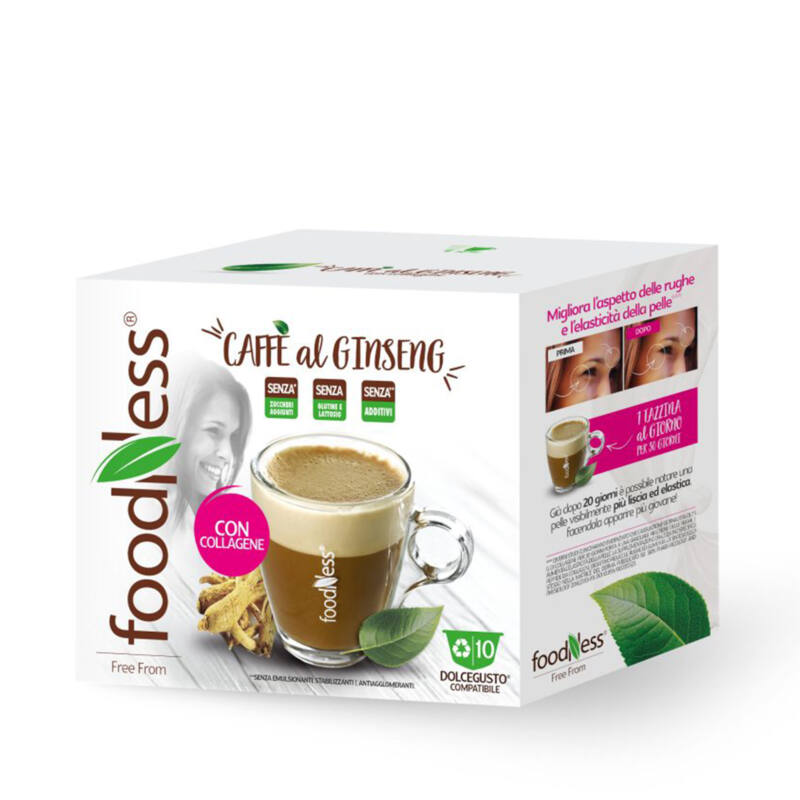 GINSENG ÉS KOLLAGÉN kávékülönlegesség DOLCE GUSTO kompatibilis kávékapszula