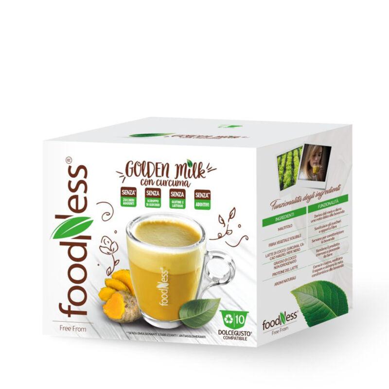 GOLDEN MILK Kurkumás kókusztejes Wellness ital 10 db DOLCE GUSTO® kompatibilis kapszula
